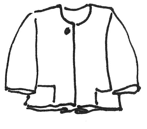 Kurze Jacke - Natur zum Anziehen - Die Schnittmuster